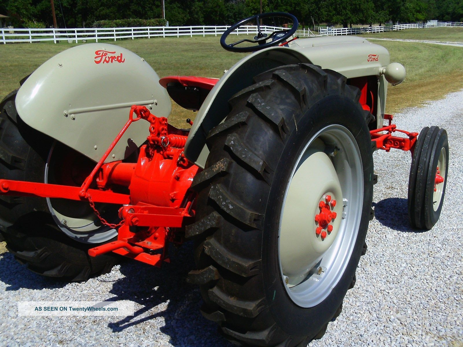 53 ford jubilee tractor manual