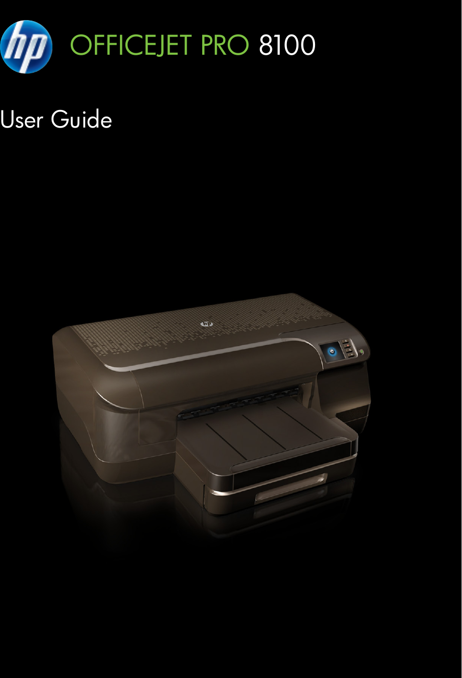 hp officejet pro 8100 manual