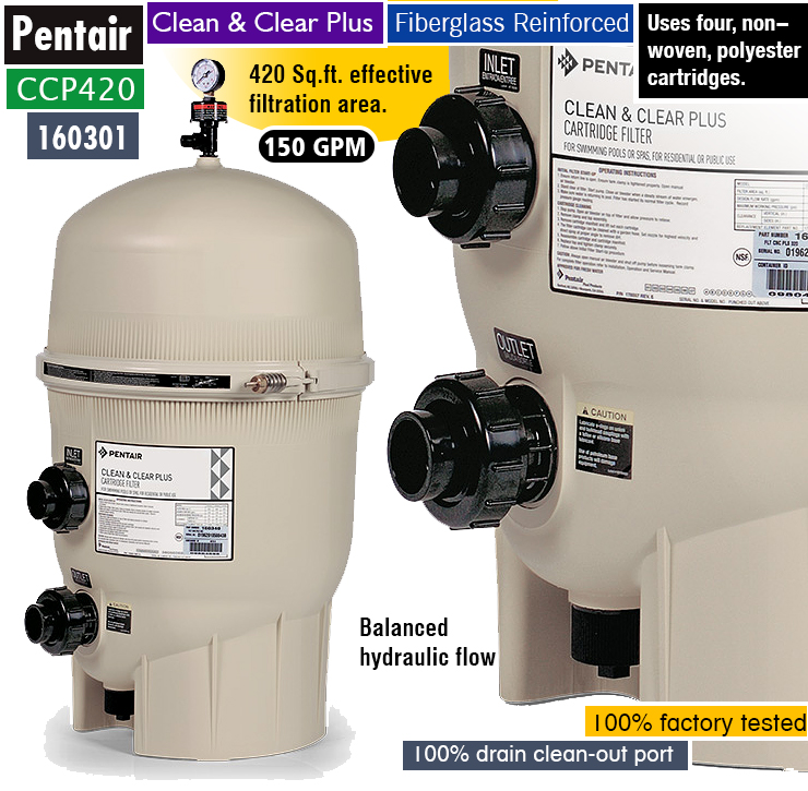 pentair clean and clear plus manual